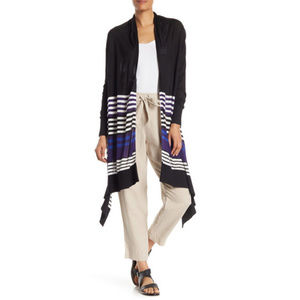 DKNY Open Front High Low Cardigan Sweater NWT